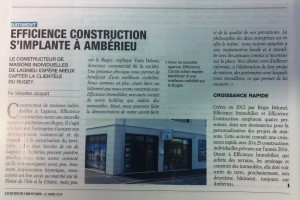 Article ECO de L'AIN 03-2016